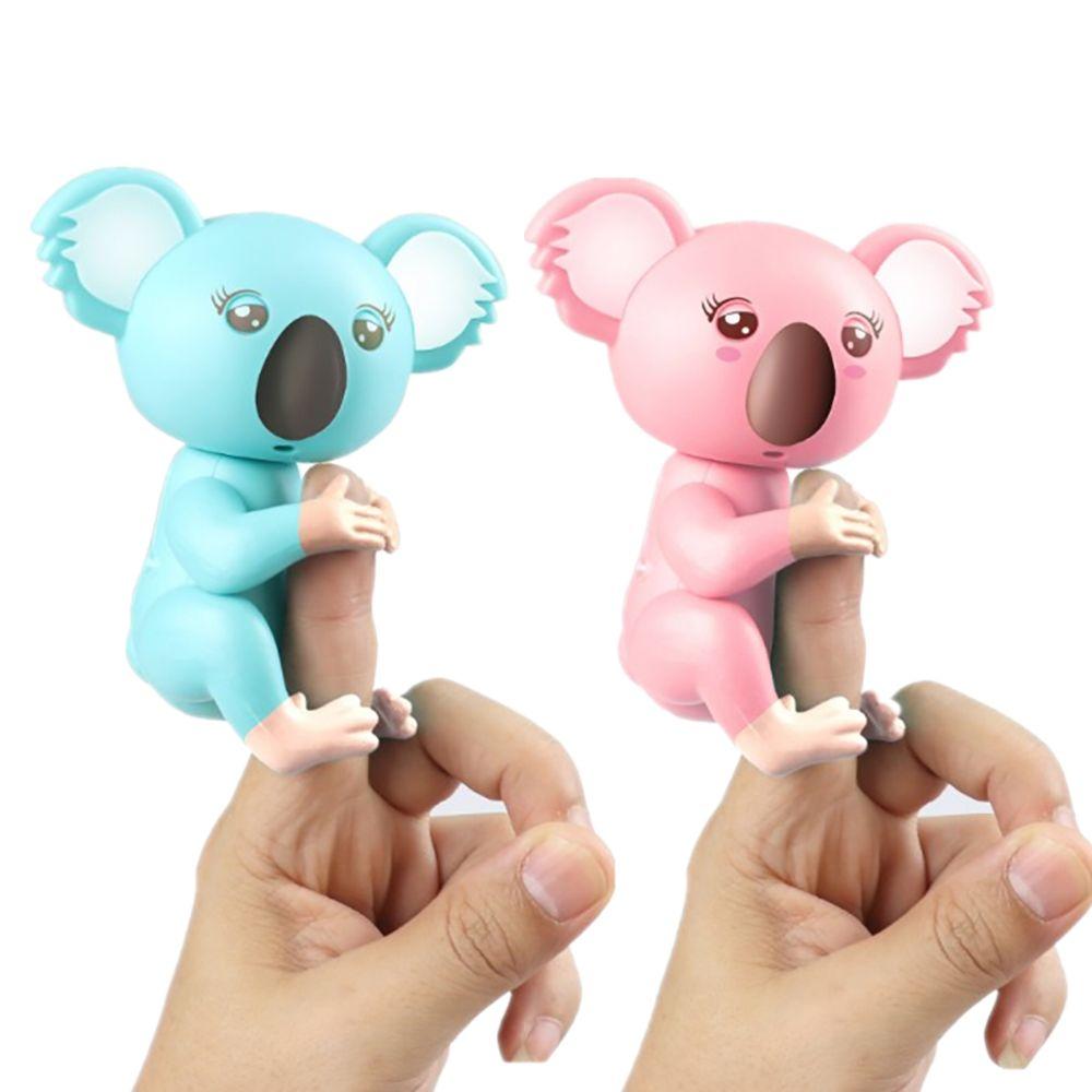 Electronic Fingertip Koala Pack Finger Toys Interactive Baby Pet Intelligence Decompression Smart Toy Like Finger baby Monkey