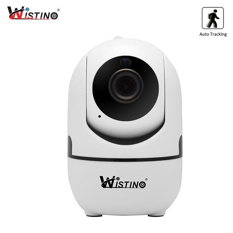 Wistino CCTV Wireless IP Camera Auto <font><b>Track</b></font> 720P Surveillance Security Home Camera Indoor Video Baby Monitor Wifi IR Night Vision