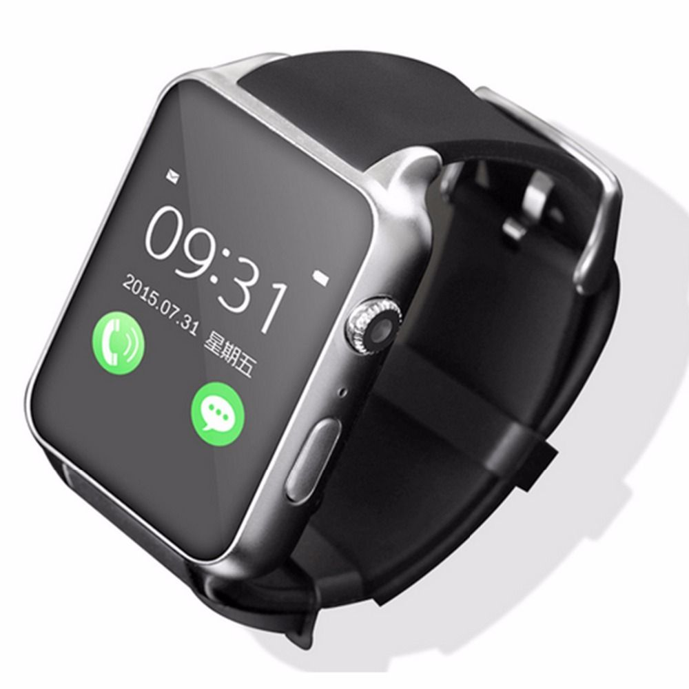 100% original GT88 <font><b>Bluetooth</b></font> Smartwatch phone Wrist Smart Watch Heart Rate Monitor Support TF SIM Card for apple IOS Android OS