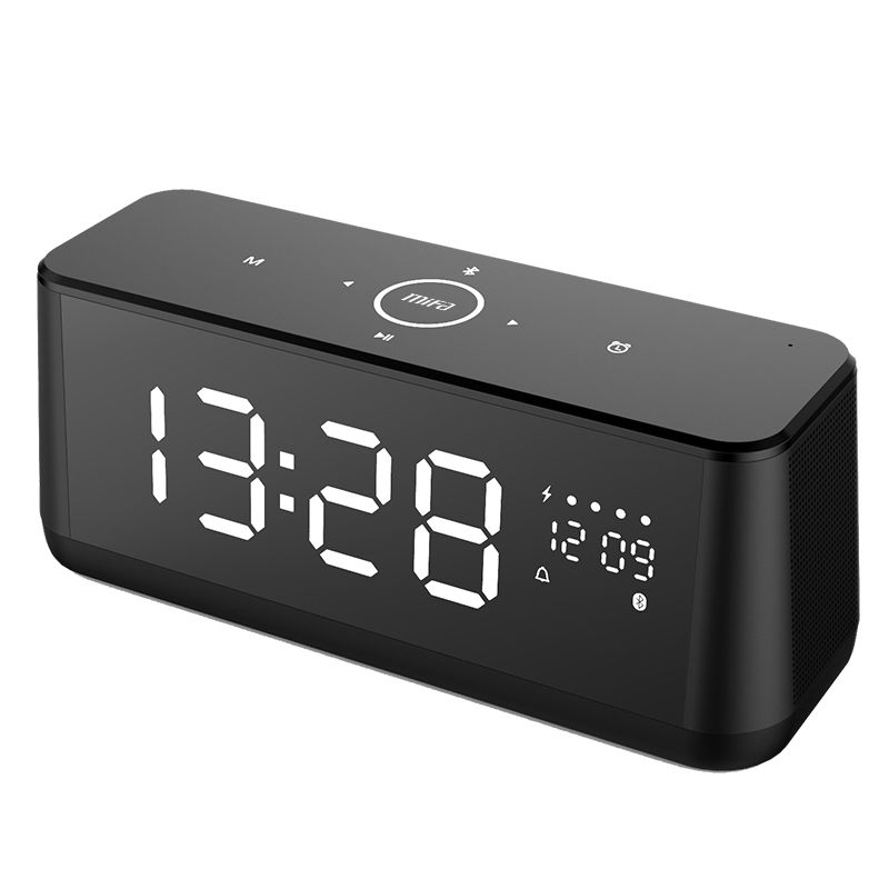 Mifa A30 Touch Control Portable Bluetooth Speaker with LCD Display Wireless Stereo Speakers Support TF AUX Alarm Clock TWS