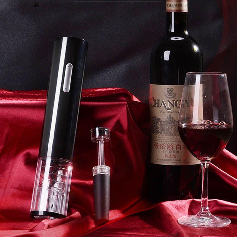 Nouveau ouvre-bouteille automatique pour coupeur de feuille de vin rouge ouvre-bouteille électrique rouge ouvre-pot accessoires de cuisine ouvre-bouteille