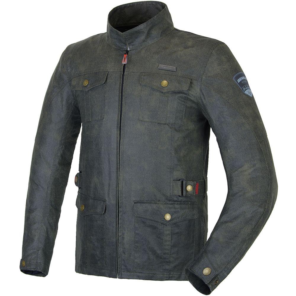 BENKIA Motorcycle Racing Vintga Jacket Autumn Winter Retro-style Jacket Motorbike Riding Clothing Jaqueta Motoqueiro