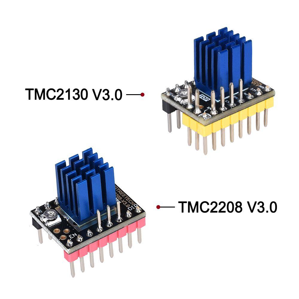 BIGTREETECH TMC2130 V3.0 Stepper Motor Driver SPI TMC2208 UART driver 3D Printer Parts for SKR V1.3 PRO MKS GEN L A4988 TMC2209