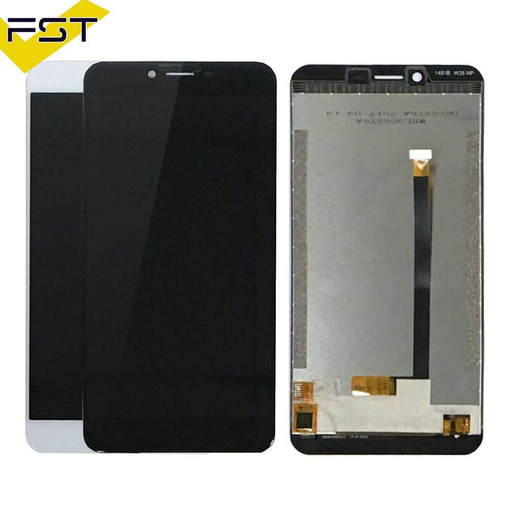 Black/White For Oukitel U15S LCD Display+Touch Screen Screen Digitizer Assembly Repair Parts+Tools +Adhesive lcd for u15s