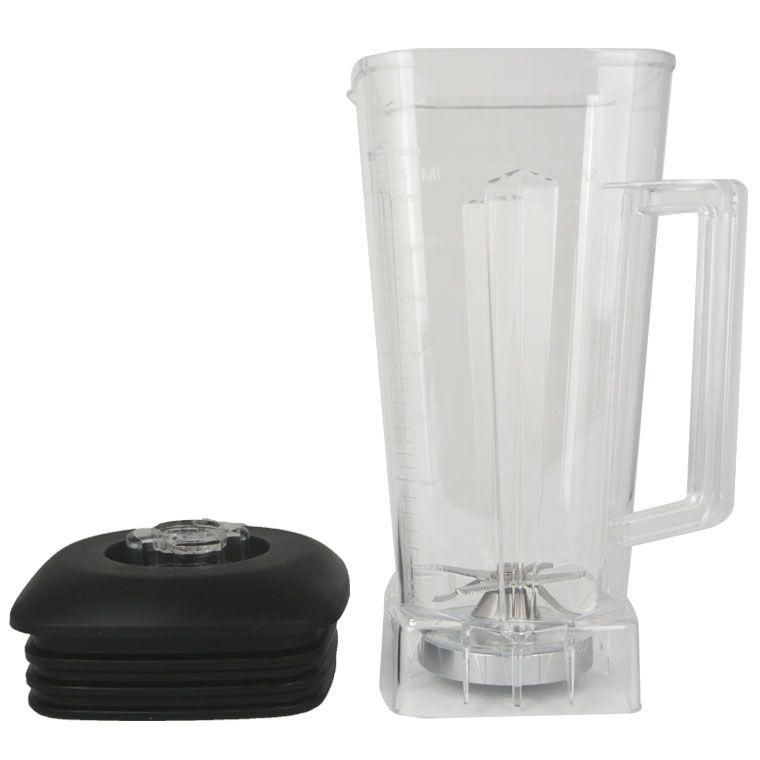 Mixer Teile Bank für Smoothies 2L Platz Transparente Gläser Einschließlich Abdeckung Klinge für Kommerziellen Mixer 767 800 5200 010