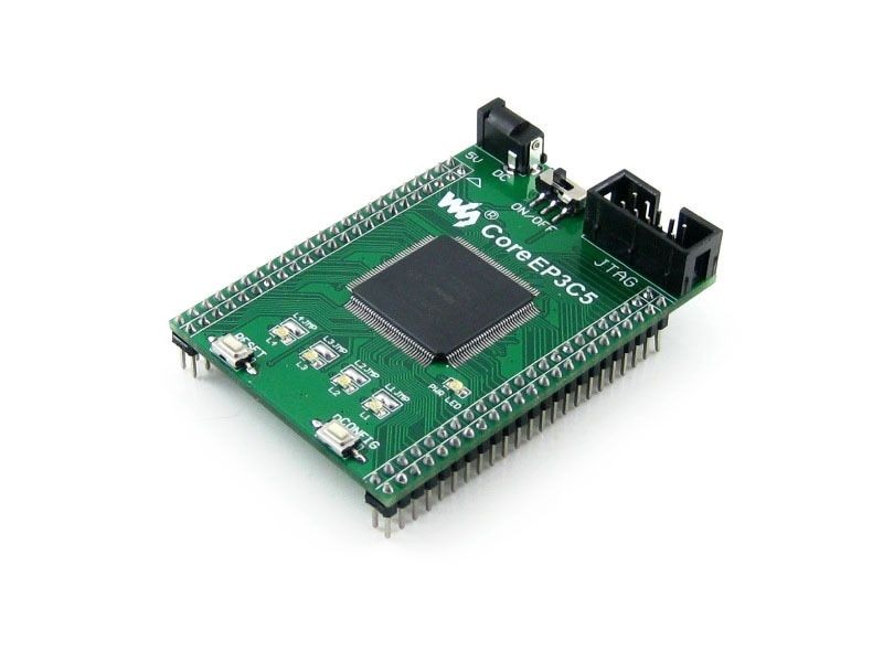 module CoreEP3C5 = EP3C5 ALTERA Cyclone III chip EP3C5E144C8N FPGA Evaluation Development Core Board with Full IO Expanders