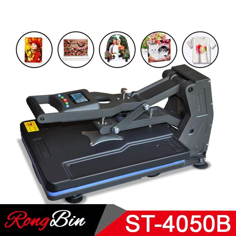 ST-4050B 40x50 cm Hitze Presse Maschine Sublimation Wärme Presse Wärme Transfer Ohne Hydraulische Telefon Fall/T shirt /Puzzle/Rock/Glas