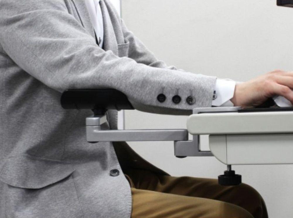 Horizontal Réglable En Alliage D'aluminium Tapis de Souris Mains Support Glisser support de Poignet Stands support