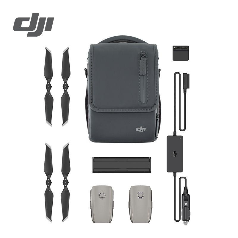 DJI Mavic 2 Pro Zoom Fliegen Mehr Kit Inclduing Mavic 2 Pro Batterie Schulter Tasche Propeller Auto Ladegerät Batterie zu power Bank Adapter
