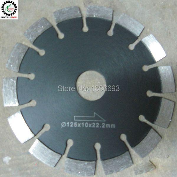 Lame de scie circulaire diamantée 125X10X22.23mm pour béton armé, outils de coupe d'asphalte, meules de coupe de maçonnerie