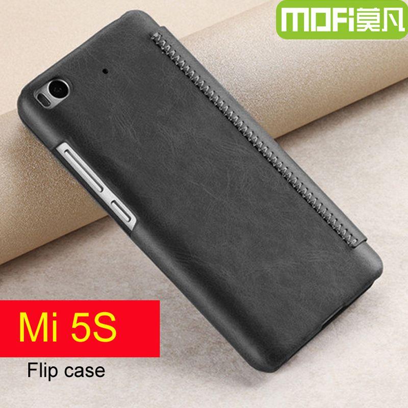 Xiaomi mi 5 s étui flip mi 5 s housse en cuir 64 gb xiaomi 5 s qtp xiaomi m5s 128 gb étui portefeuille 5.15