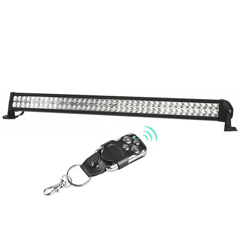 RACBOX 240W 42 inch LED Work Light Bar Combo Beam For Jeep Wrangler Offroad 4x4 4WD Boat SUV Truck Tractor Automobile 12V 6000K