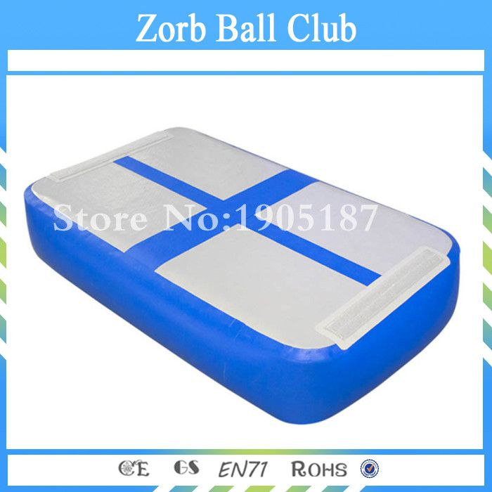 Free Shipping Gym Mat Inflatable Gymnastics Tumble Track Air Block Air Board