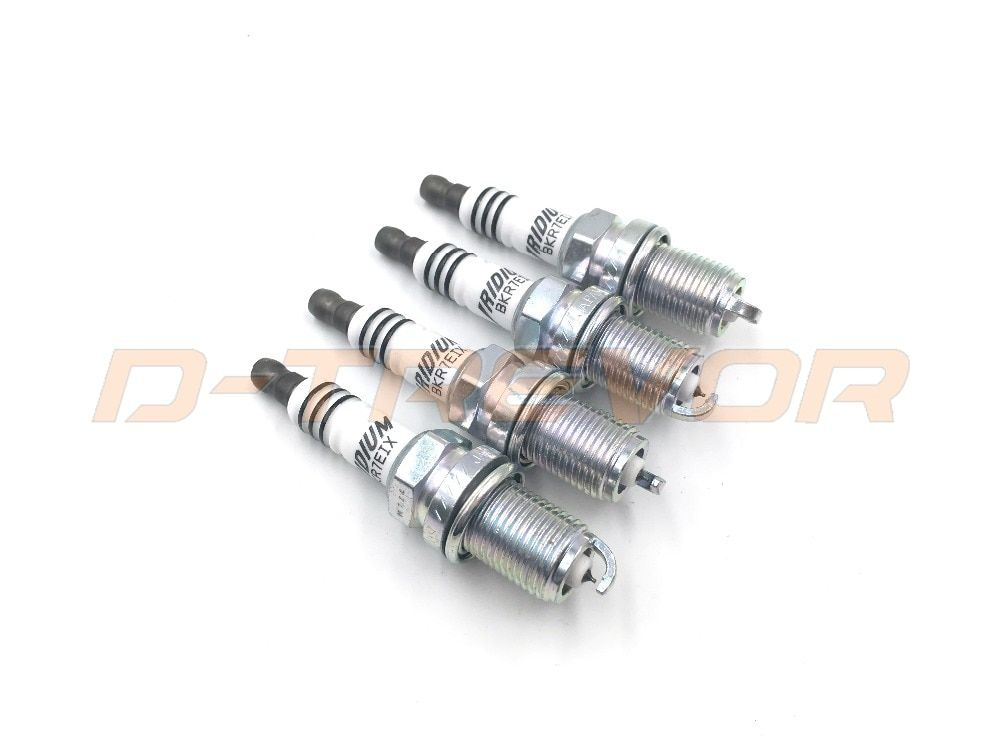 Iridium IX Spark Plugs BKR7EIX Colder Heat Range 7 for Aston BMW Honda Porsche Audi VW BKR7EIX 2667