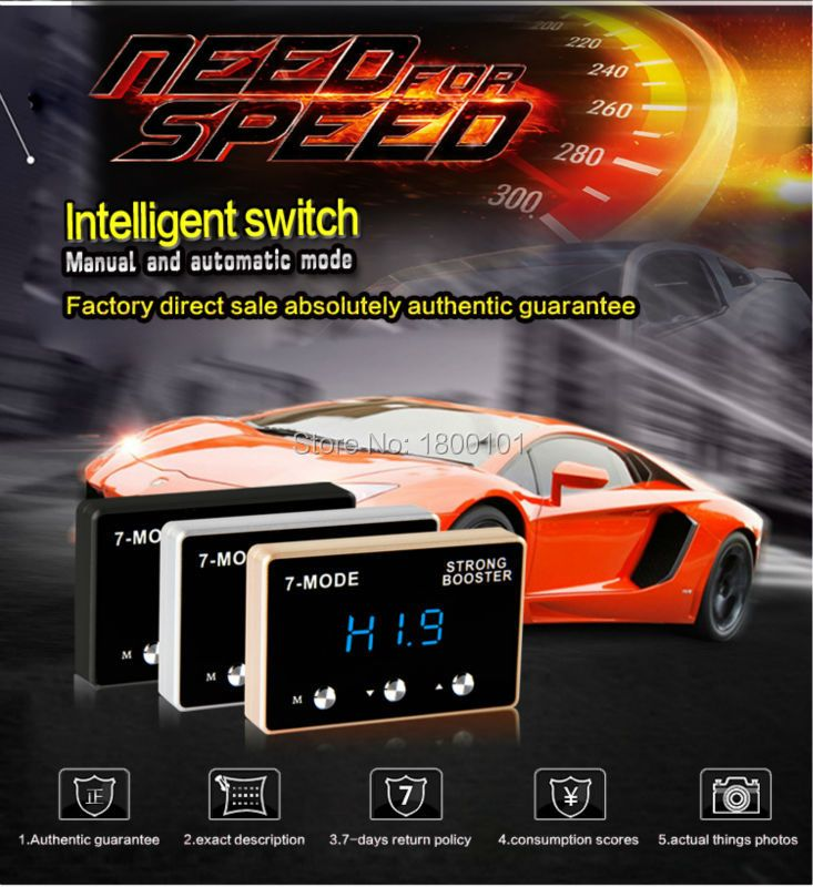 Sprint booster power converter throttle response controller 7mode Pedal commander car accessories auto parts factory price