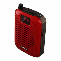 Rolton K500 Microphone Bluetooth Card Speaker Recording Function Amplifier Teacher Guide Hanging High Power Speaker Megaphone