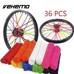 Universal Motorcycle Wheel spoke skins Dirt Bike Enduro Off Road Rim For honda crf 450 CR CRF XR XL 85 125 250 500 KTM KAWASAKI