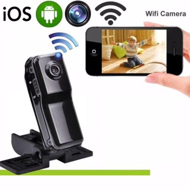 MD81 Wifi IP Mini Kamera Digitale DV DVR Camcorder Bewegungserkennung Nachtsicht Drahtlose Kamera Sprach Video Recorder PK SQ11
