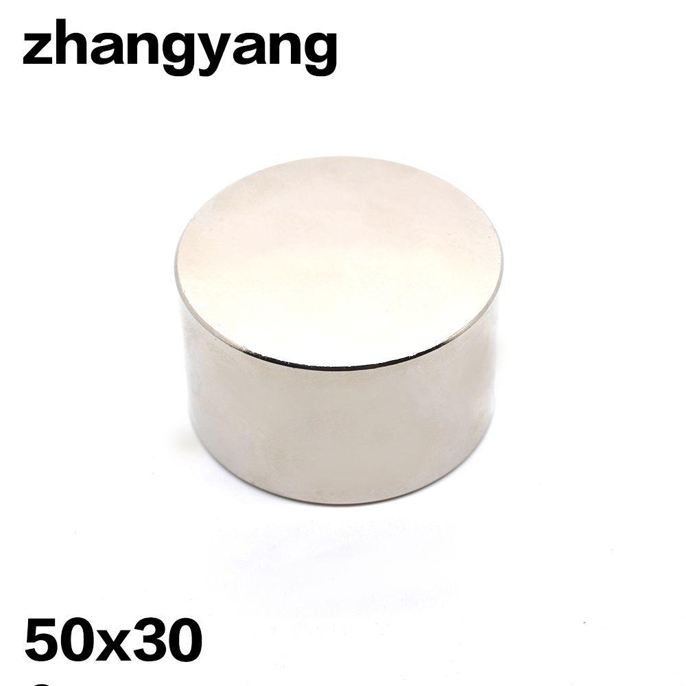 1 stücke neodym-magnet D50x30mm hot super starke runde magnete Rare Earth 50*30mm N52 stärkste permanent leistungsstarke magnetische