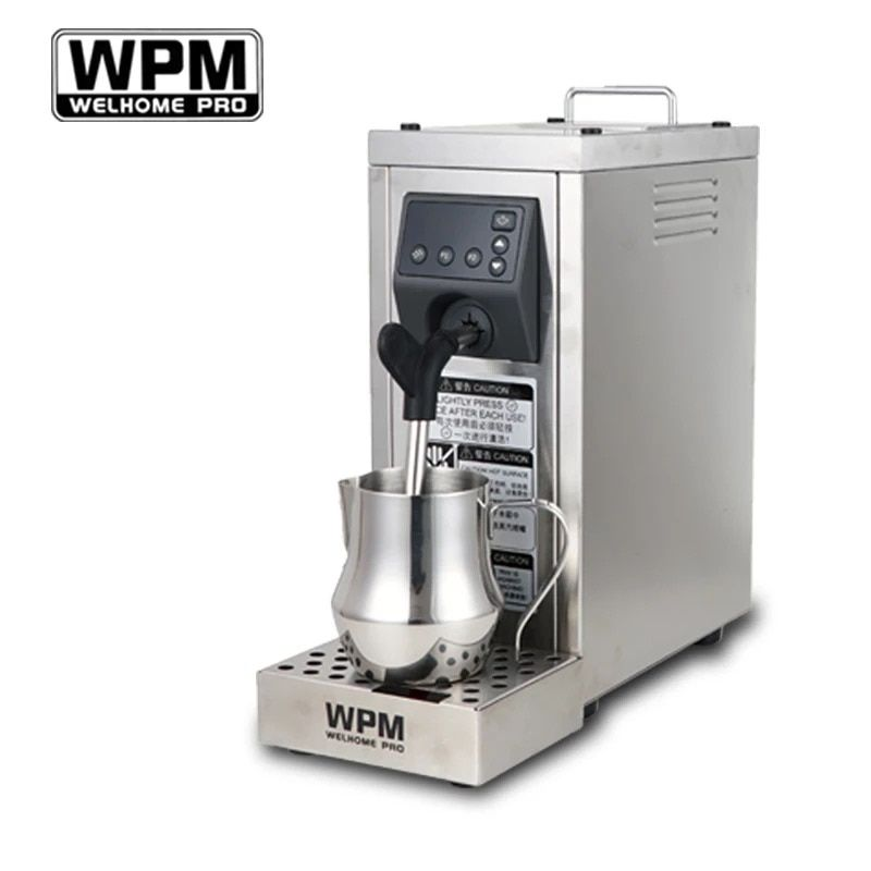200-240VFully automat Professional milk steamer with temperature setting/stainless steel milk frother machine WPM WELHOME PRO