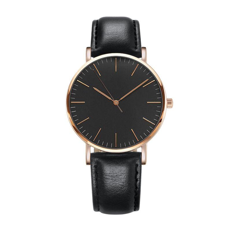 36MM luxury brand ladies watch new fashion business casual leather nylon strap quartz waterproof watch