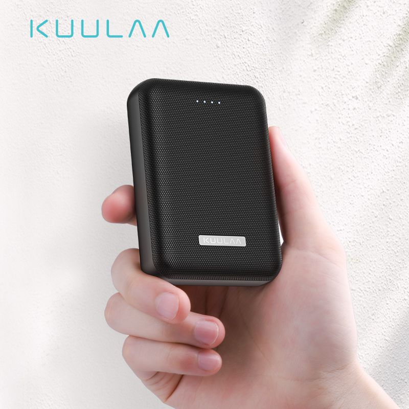 KUULAA batterie externe 10000 mAh Portable chargeur de batterie 10000 mAh double USB mi ni chargeur de batterie externe pour Xiao mi 8 appauvrbank