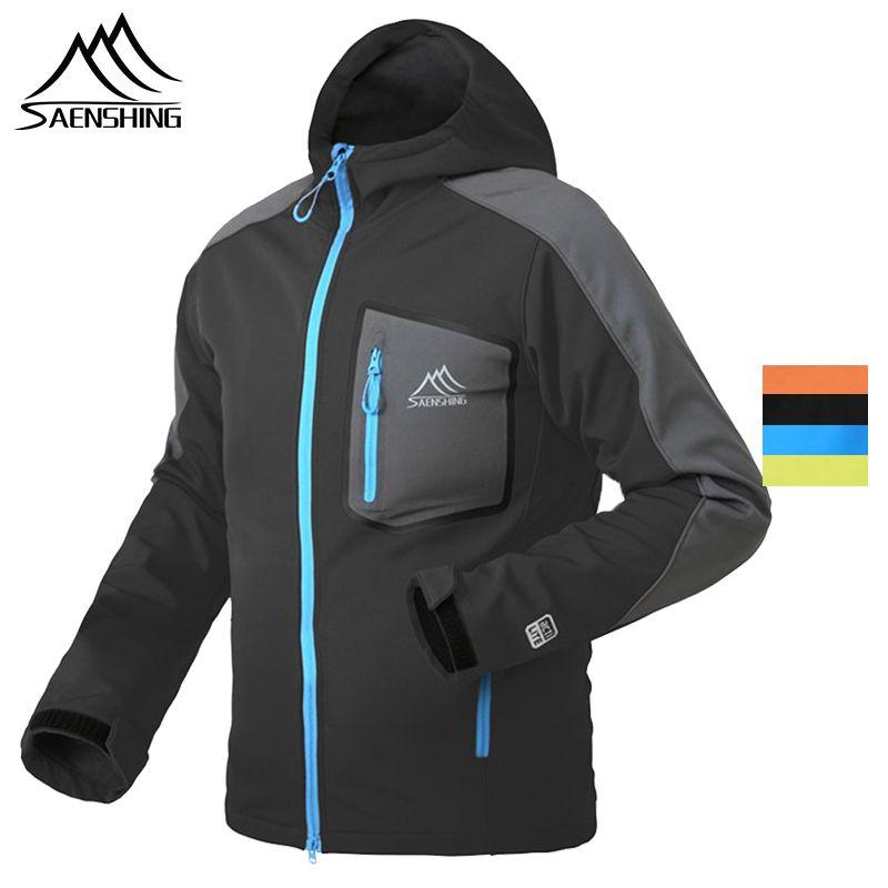 SAENSHING imperméable softshell veste hommes randonnée polaire pluie manteau pêche coupe-vent Camping en plein air Trekking doux shell veste