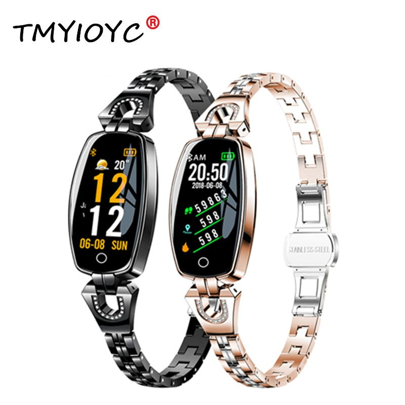 H8 smart Band Women Heart Rate Smart Bracelets Blood Pressure measurement wristband Fitness Tracker electronic health bracelet