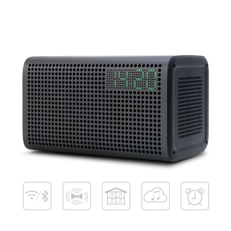 GGMM E3 Bluetooth Column Wireless Bluetooth Speaker WiFi HiFi Music Stereo Speakers for the Computer with LED Alarm Loudspeakers