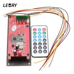 LEORY Wireless MP3 Decoding Board Bluetooth 4.0 Lossless Audio Module Support Radio Record SD USB APP Control APE FLAC WMA AUX