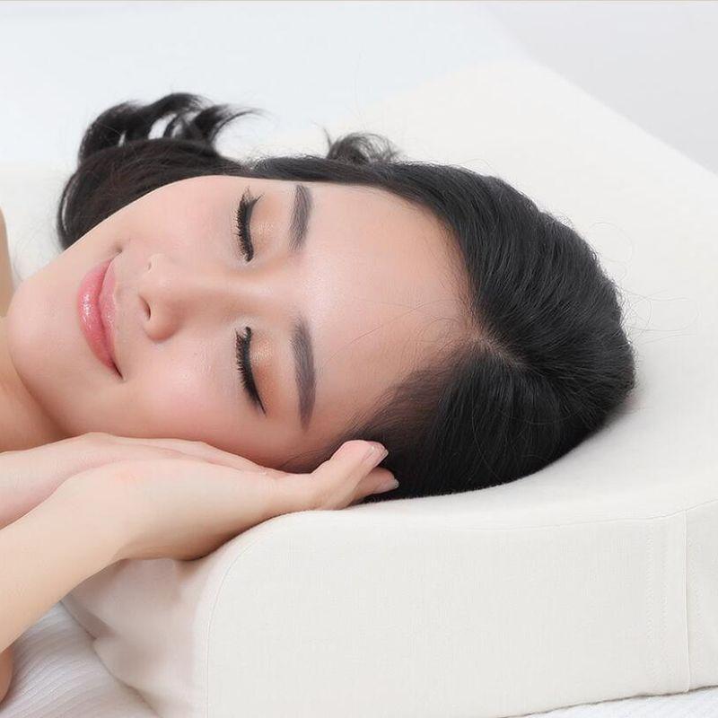 Xiaomi Kissen 8 H Z2 Natürliche Latex Elastische Weiches Kissen Neck Schutz Kissen beste Umwelt sicher material Für Smart home