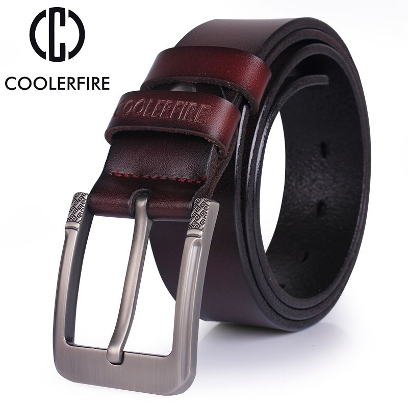 High quality genuine <font><b>leather</b></font> belt luxury designer belts men new fashion Strap male Jeans for man cowboy free shipping belt men
