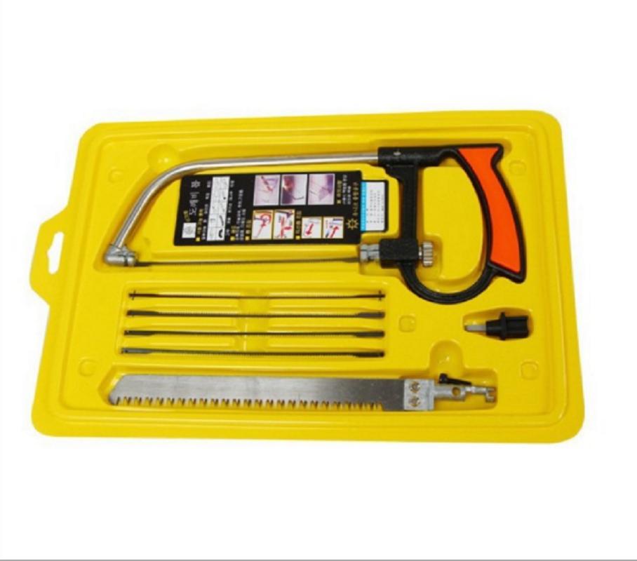 8 in 1 / 11 in 1 Mental Mini Saw Hacksaw DIY Hand Saw for Wood Woodworking Saws Set Kit Multi Purpose Hobby Tool
