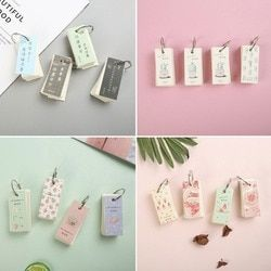 1Pc 110 Sheets Lovely Mini Notebook School Supply Vocabulary Writing Reciting Book Notebook Hot Sent At Random