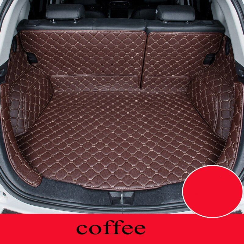 Custom car mat trunk for Nissan All Models qashqai x-trail tiida Note Murano March Teana car styling Almera custom cargo liner
