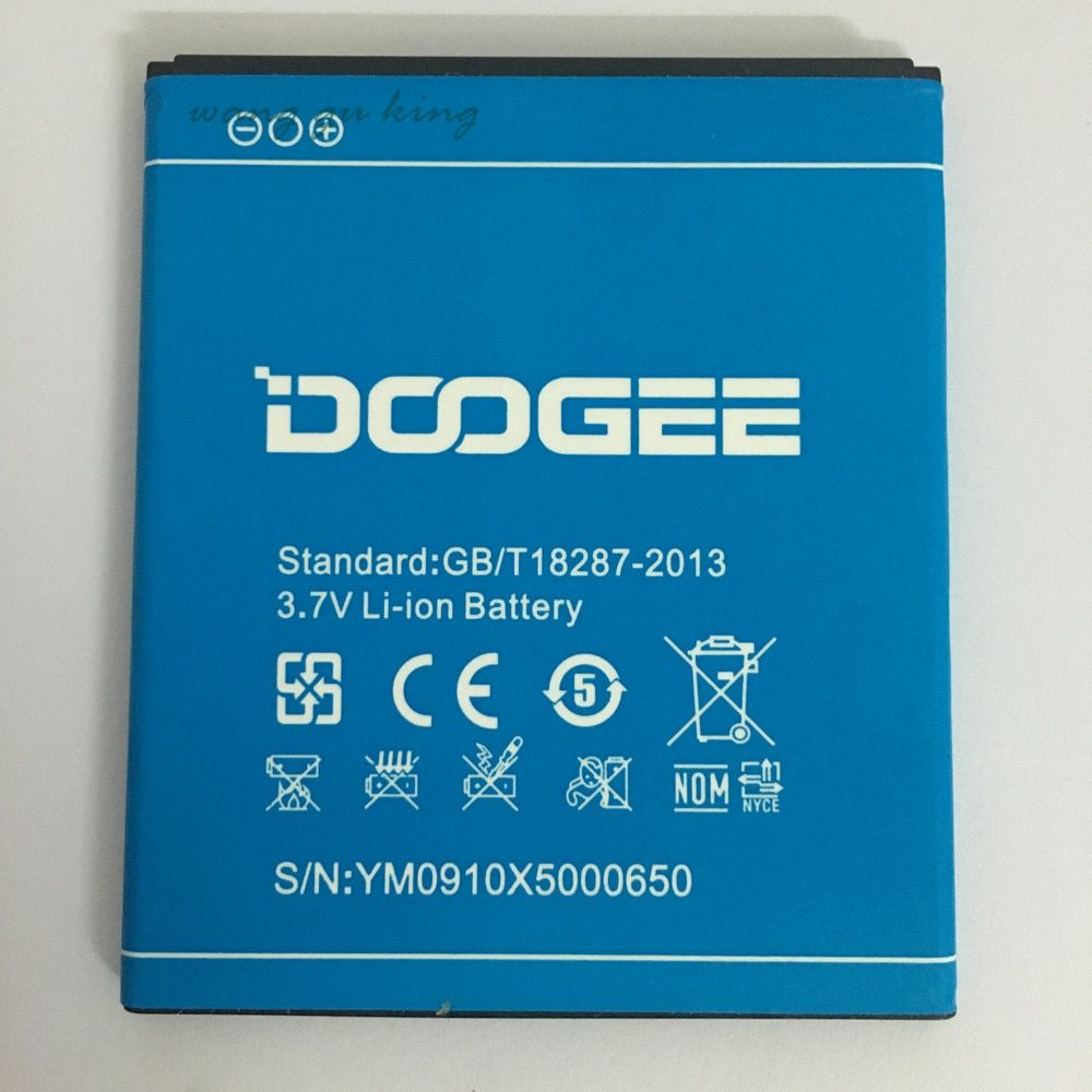Original Mobile Phone Battery For Doogee X5 X5 Pro Batteries 2400mAh 3.7V Li-ion Battery Rechargeable Bateria High Quality