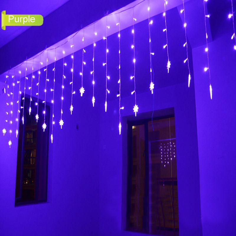 1.5x0.5m Luces De Navidad Decorativas Polaris LED String Fairy Lights Christmas Outdoor LED Wedding Lights Party Decoration Lamp