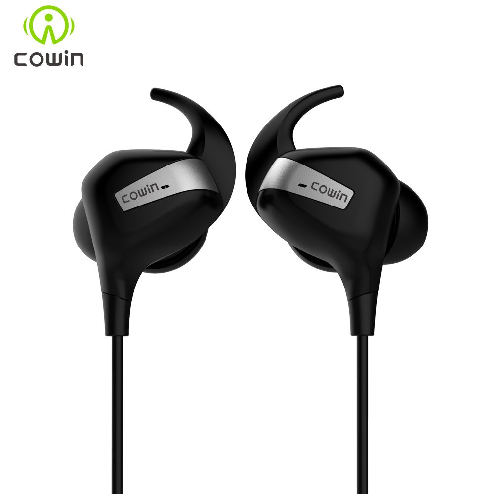 2018 NEW COWIN HE8M APT-X Active Noise Cancelling Wireless Bluetooth Earphone Sports Earbuds OTG charging Waterproof haadset