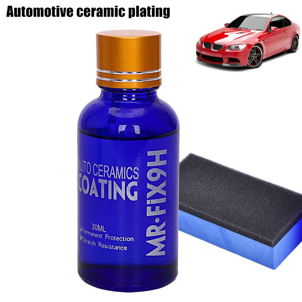 New Portable 30ML High Gloss Ceramic Car Coating Kit Anti-Scratch Exterior Care Paint Sealant 9H Hardness 88 XR657