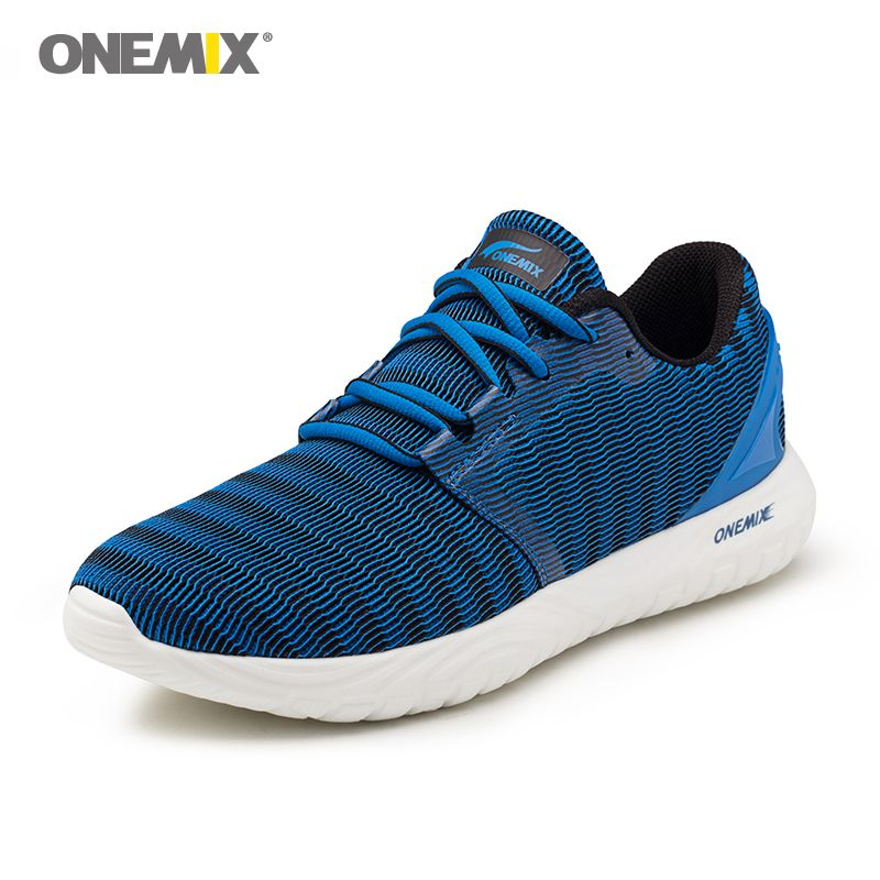 ONEMIX summer sneakers for men jogging shoes soft deodorant insole light cool sneakers for outdoor running walking