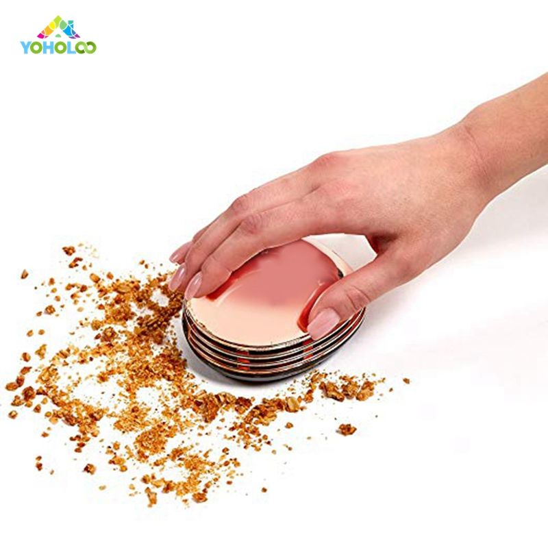 Copper Electric Chef Crumby Mini Vacuum Desk Table Dust Keyboard Dust Vacuum Cleaner Sweeper Unique Small Vacuum for Home Office