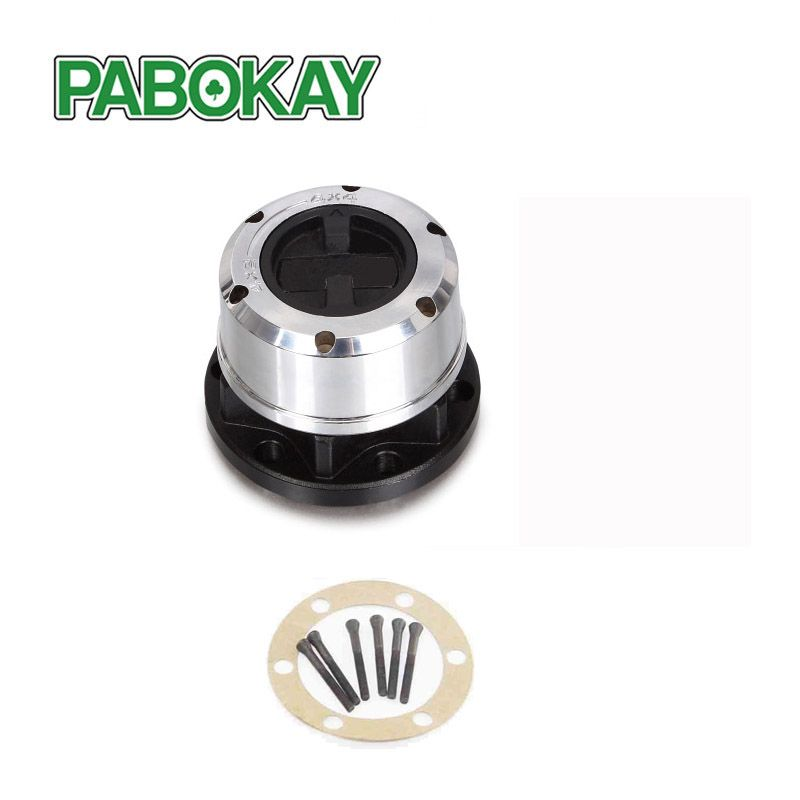 1 piece x For SSANGYONG Korando II Musso SUV Rexton TD Musso Pick Up Locking hubs FREE Wheel hub B035 AVM450