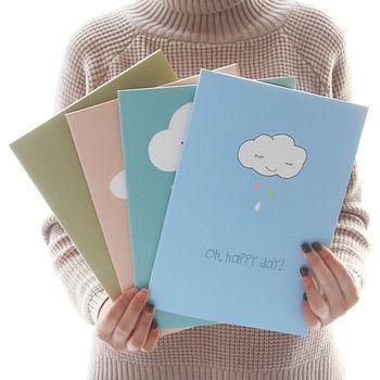 Jianwu милый мультфильм ноутбук B5 ноутбук Тубы тетради Kawaii Канцелярские студент подарок много стилей