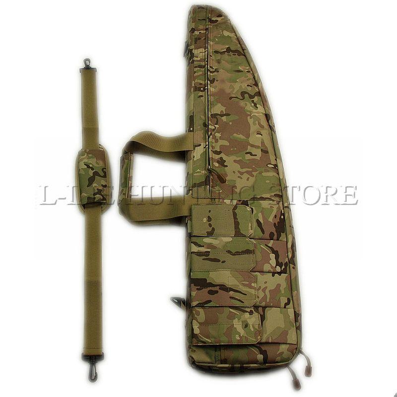 90 cm Tactical Gewehr Pistole Tasche 35,5 ZOLL Schulter Nylontasche Mit Schutz Foam Gun Fall Airsoft Schießen Jagd Gun tasche