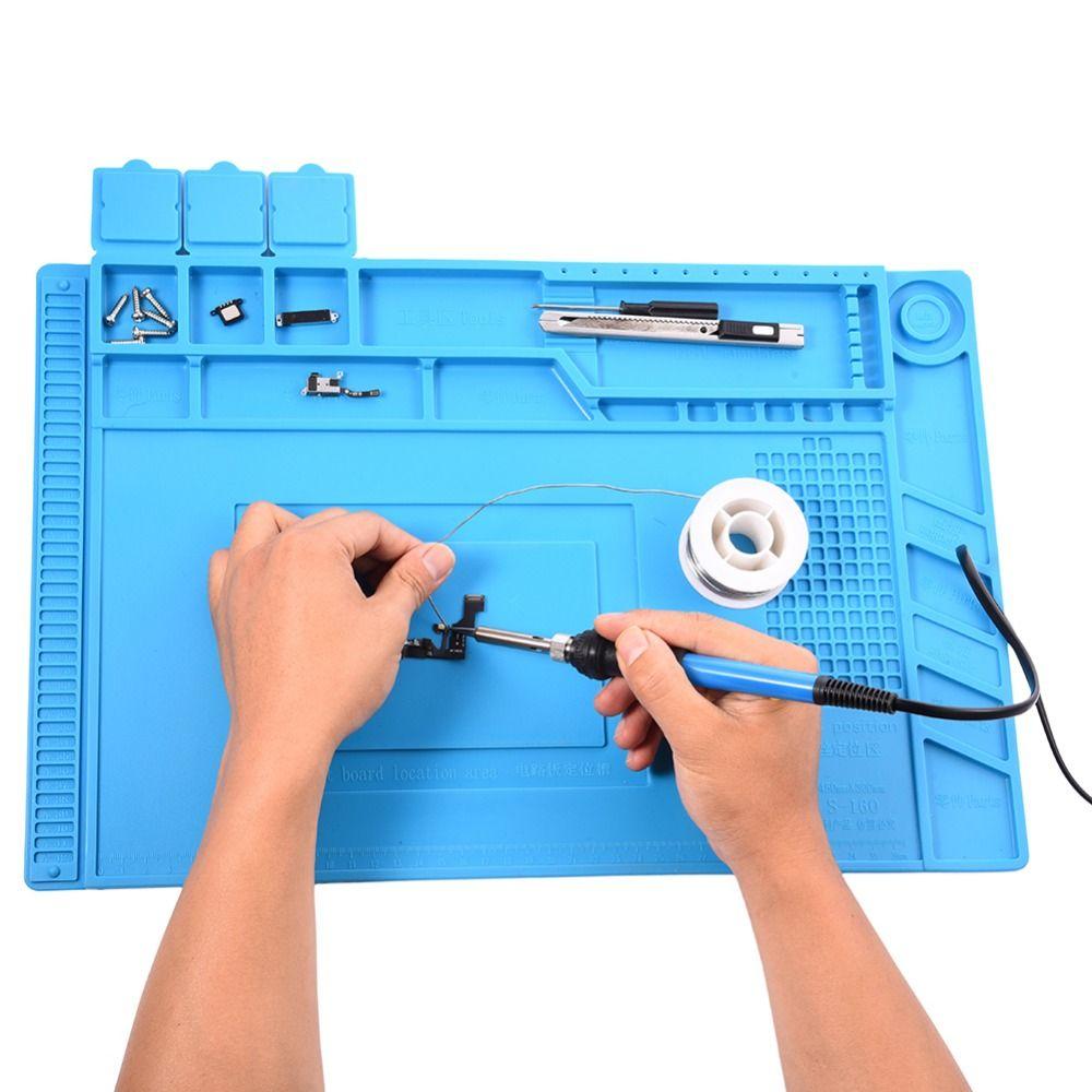 Heat-Resistant Heat Gun BGA Soldering Station Repair Insulation Pad Insulator Pad Maintenance Platform Desk Mat Drop Shipping
