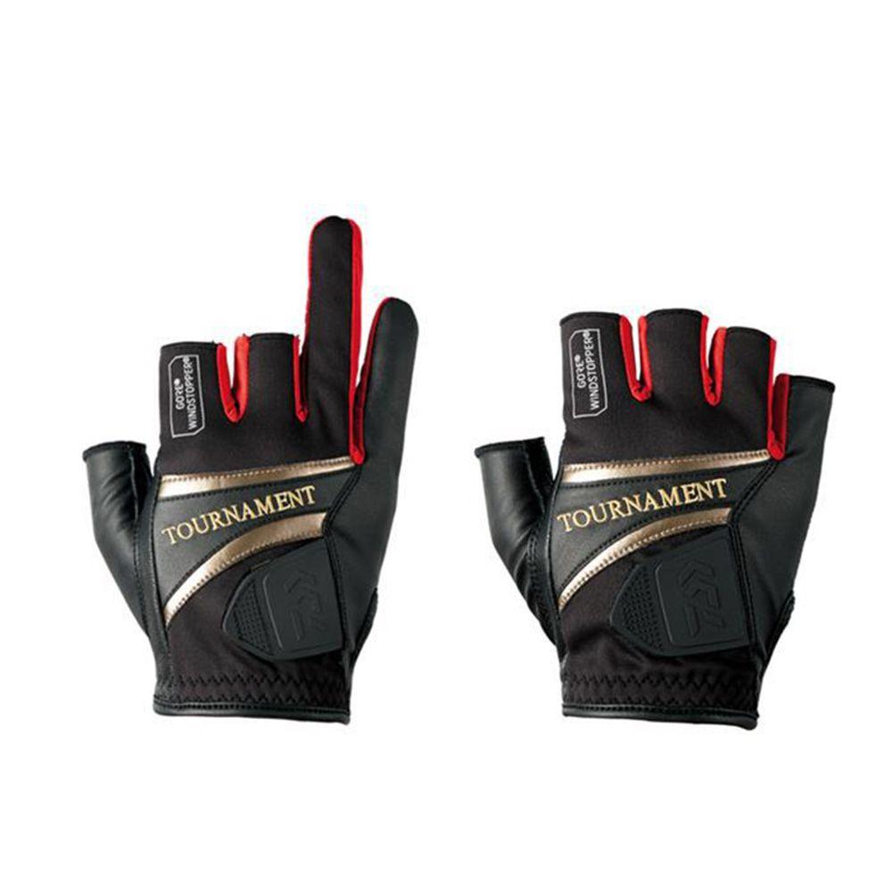 Gants de pêche en cuir à trois ou cinq doigts coupés nouveaux gants de pêche antidérapants de haute qualité/gants antidérapants pour Sports de plein air
