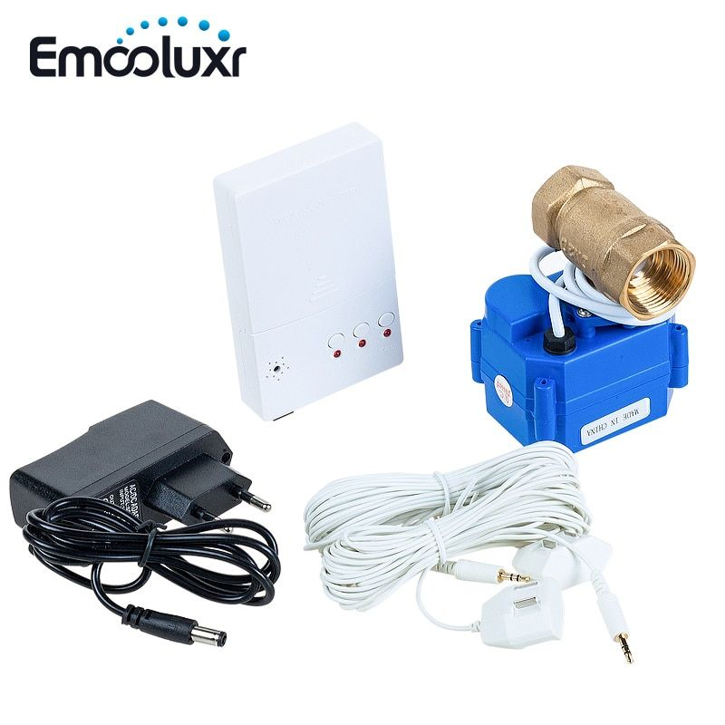 Water Leak Detector Alarm System with 1