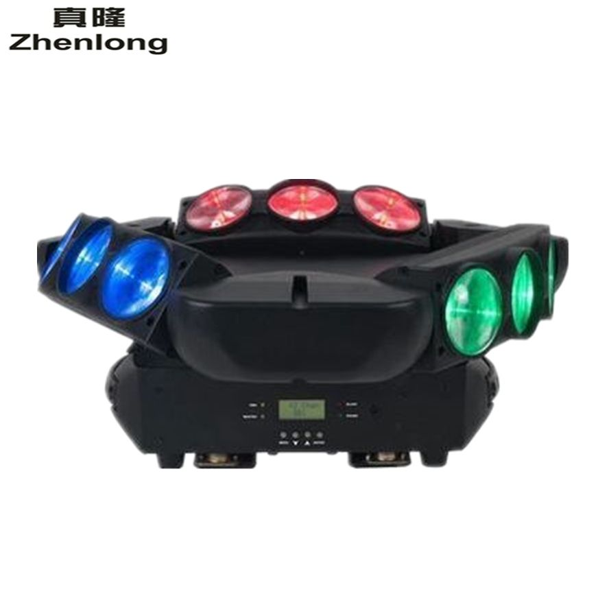 2017 New Arrival CREE MINI LED 9x10W Led Spider Light RGBW 16/48CH DMX Stage Lights Dj Led Spider Moving Head Beam Light