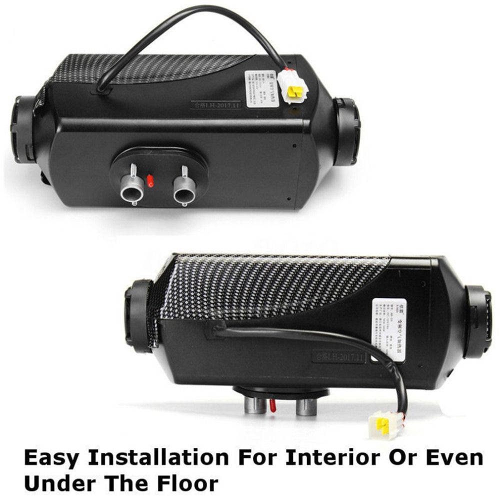 5000W 12V Air Diesel Heater With Vent Duct Pipe Low Fuel Consumption Air Parking Heater For Car Trucks Boat Bus