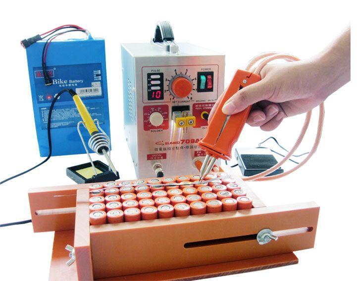 SUNKKO 709AD 4 IN 1 Welding machine fixed pulse welding constant temperature soldering Triggered induction spot welding HB-70B